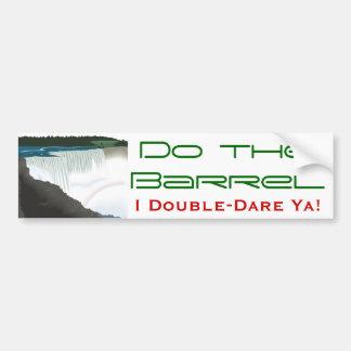 Niagara Falls Car Bumper Sticker