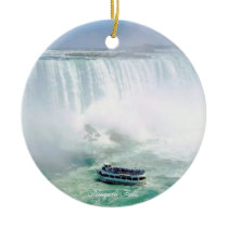 Niagara Falls, Circle Ornament