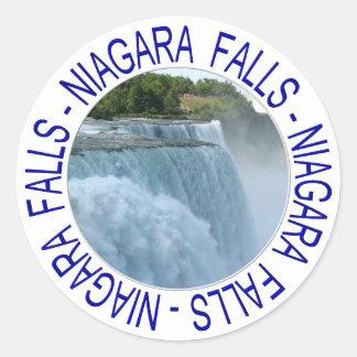 Niagara Falls Classic Round Sticker