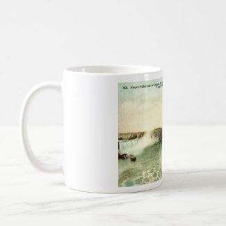 Niagara Falls, Clifton Hotel 1915 Vintage mug