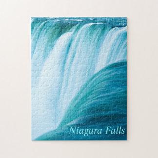 Niagara Falls con el texto Rompecabezas