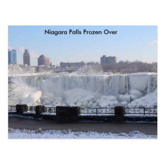 Niagara Falls congelado encima Tarjetas Postales