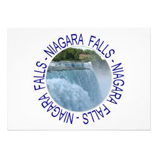 Niagara Falls Custom Invites