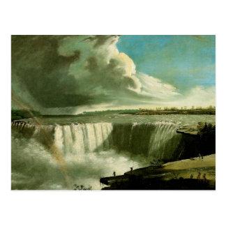 Niagara Falls de la roca de la tabla Postal