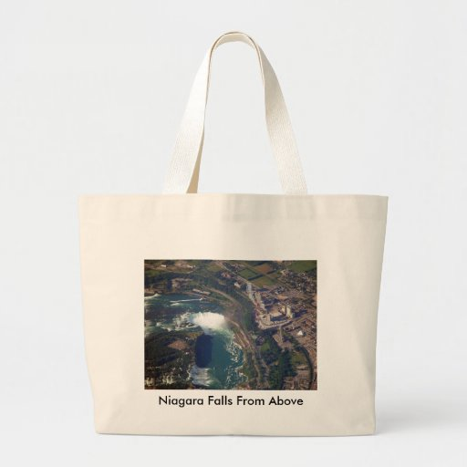 Niagara Falls desde arriba de la bolsa de asas