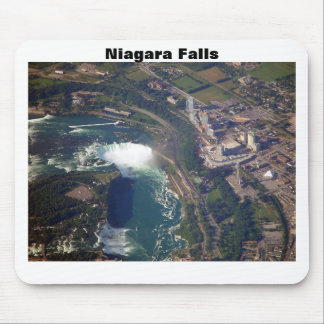 Niagara Falls desde arriba del cojín de ratón Tapete De Ratón