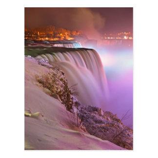Niagara Falls en el invierno del punto de la Tarjetas Postales