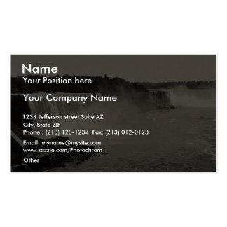 Niagara Falls from Steel Arch Bridge rare Photochr Business Cards
