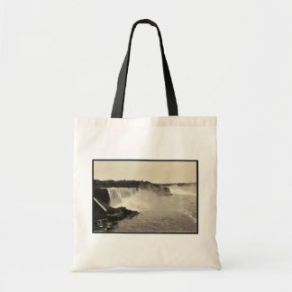 Niagara Falls from Steel Arch Bridge rare Photochr Tote Bag