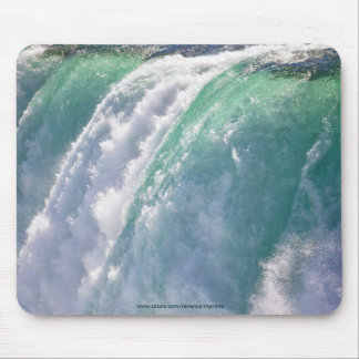 Niagara Falls Horseshoe Falls 2 Canada-US Border Mouse Pad