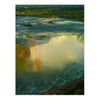 niagara falls horseshoe falls postcard