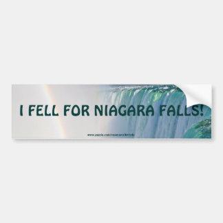 Niagara Falls Horseshoe Falls & Rainbow Bumper Sticker