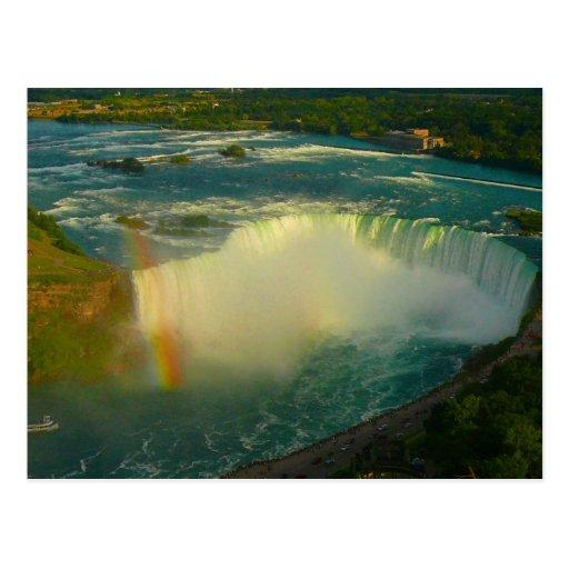 niagara falls horseshoe postcard