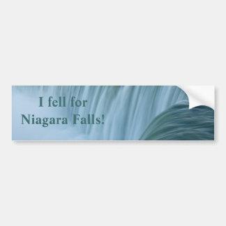 Niagara Falls I Fell For Niagara Falls! Bumper Sticker