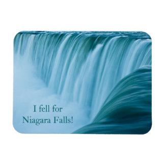 Niagara Falls I Fell For Niagara Falls! Rectangular Photo Magnet