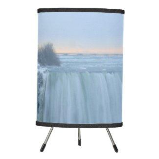 Niagara Falls in Winter Tripod Lamp