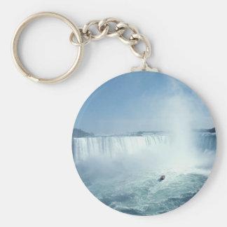 Niagara Falls Llavero Redondo Tipo Pin
