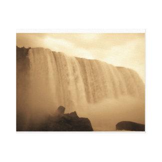 Niagara Falls Majestic Photo Art Print Canvas Print