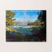Niagara Falls Massachusetts. Jigsaw Puzzle