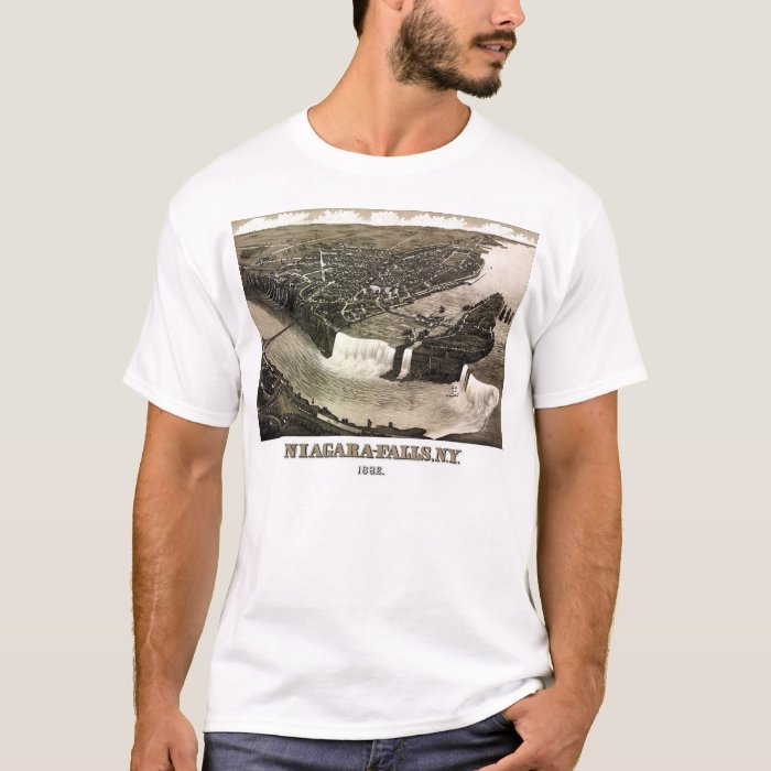 Niagara Falls, New York - 1882 T-Shirt