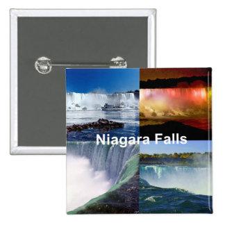 Niagara Falls New York 2 Inch Square Button