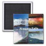Niagara Falls New York 2 Inch Square Magnet