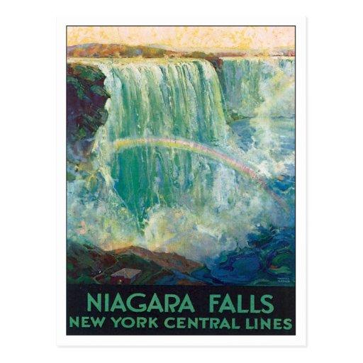 Niagara Falls New York America Postcard