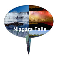 Niagara Falls New York Cake Topper