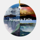Niagara Falls New York Christmas Ornament
