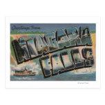 Niagara Falls, New York - Large Letter Scenes 2 Postcard