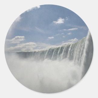 Niagara Falls, New York, USA Classic Round Sticker