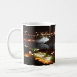 Niagara Falls Night Lights Classic White Coffee Mug
