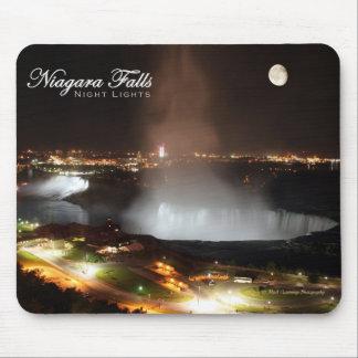 Niagara Falls Night Lights Mouse Pad