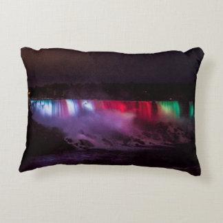 Niagara Falls Night Lights Pillow