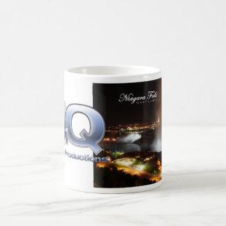 Niagara Falls Night Lights with Logo Coffee Mug