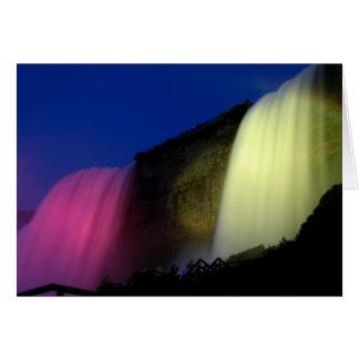 Niagara Falls: Nightly Illumination Card