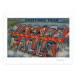 Niagara Falls, Nueva York - escenas grandes 3 de l Postal