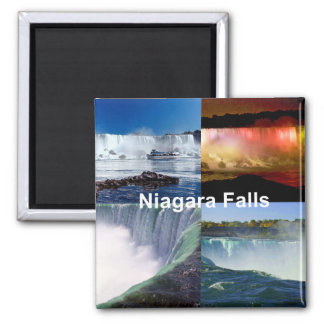 Niagara Falls Nueva York Imán Cuadrado
