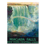 Niagara Falls Nueva York Tarjeta Postal