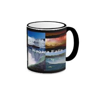 Niagara Falls Nueva York Taza De Dos Colores