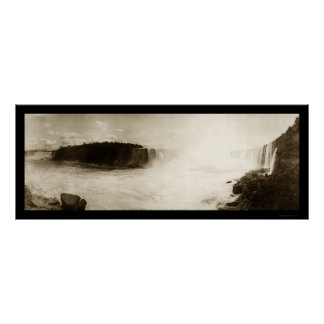 Niagara Falls, NY Photo 1896 Posters