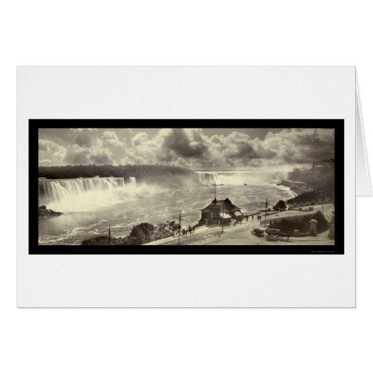 Niagara Falls, NY Photo 1909 Card