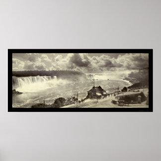 Niagara Falls, NY Photo 1909 Poster