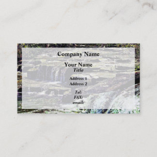 Niagara Falls NY - View From Luna Island Business Card