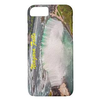 Niagara Falls on Canvas Phone Case