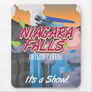 Niagara Falls Ontario Canada travel poster Mouse Pad