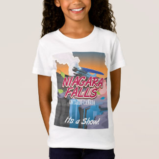 Niagara Falls Ontario Canada travel poster T-Shirt
