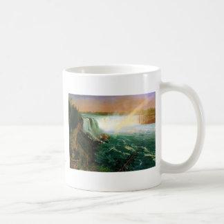 Niagara falls painting art artist Albert Bierstadt Classic White Coffee Mug