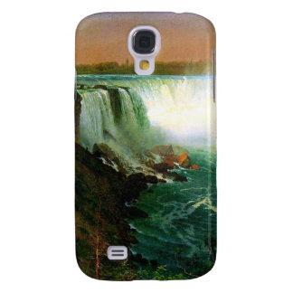 Niagara falls painting art artist Albert Bierstadt Galaxy S4 Cover