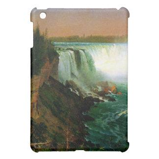 Niagara falls painting art artist Albert Bierstadt iPad Mini Cover
